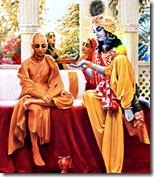 [Krishna with Sudama]