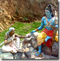 [Rama meeting Shabari]