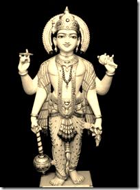 [Vishnu deity]