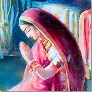 [Praying to Krishna]