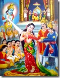 [Draupadi saved by Krishna]