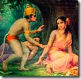 [Hanuman with Sita]