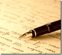 [letter writing]