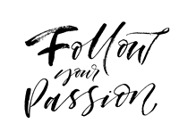 [follow your passion]
