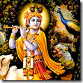 [Krishna with peacock]