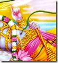 [Vishnu's navel]