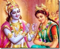 [Krishna and Rukmini]