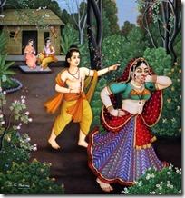 [Lakshmana and Shurpanakha]
