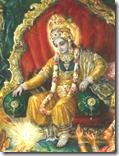 [Krishna in Dvaraka]