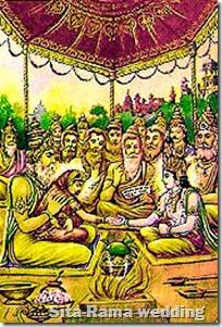[Sita-Rama wedding]