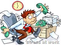 [stress at work]