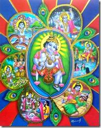 [Krishna pastimes poster]