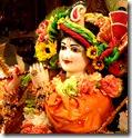[Krishna deity]