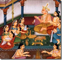 [Rama with brothers]