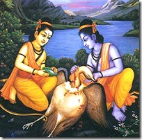 [Rama with Jatayu]
