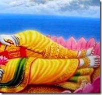 [Vishnu lying in rest]