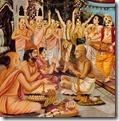 [birth ceremony for Krishna]