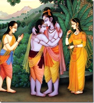 [Rama and Bharata]