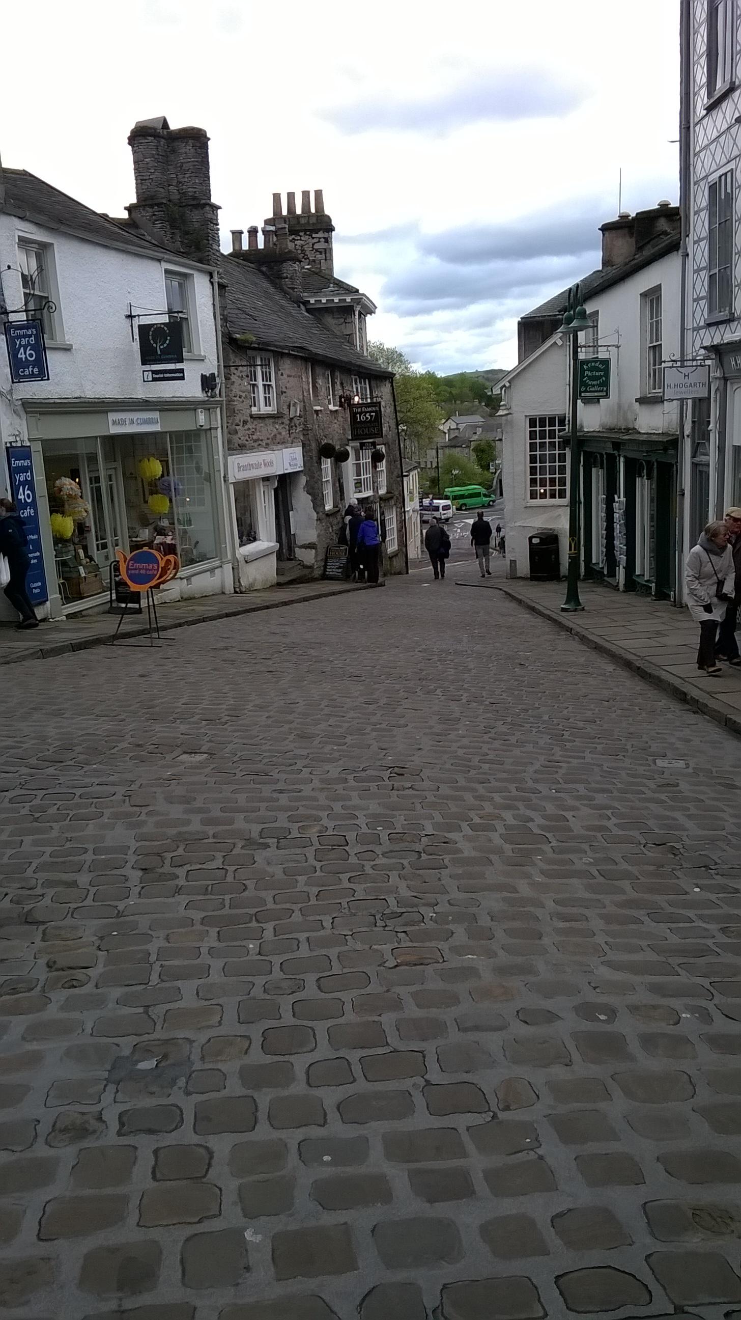 Viena no vecajām pilsētas ielām