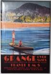 Grange-Over-Sands  veikaliņā iegādāts suvenīrs - ledusskapja magnēts
