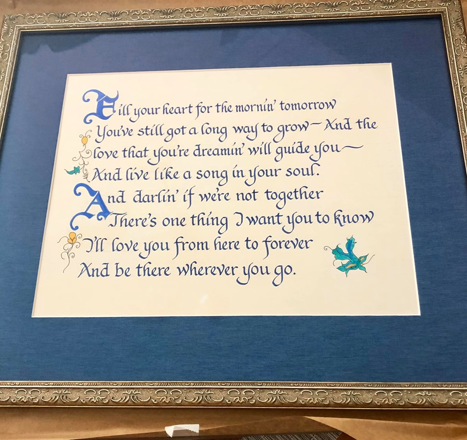Kristofferson Lyrics gift