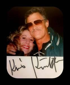 Kris Kristofferson Helen Kiddle Autograph