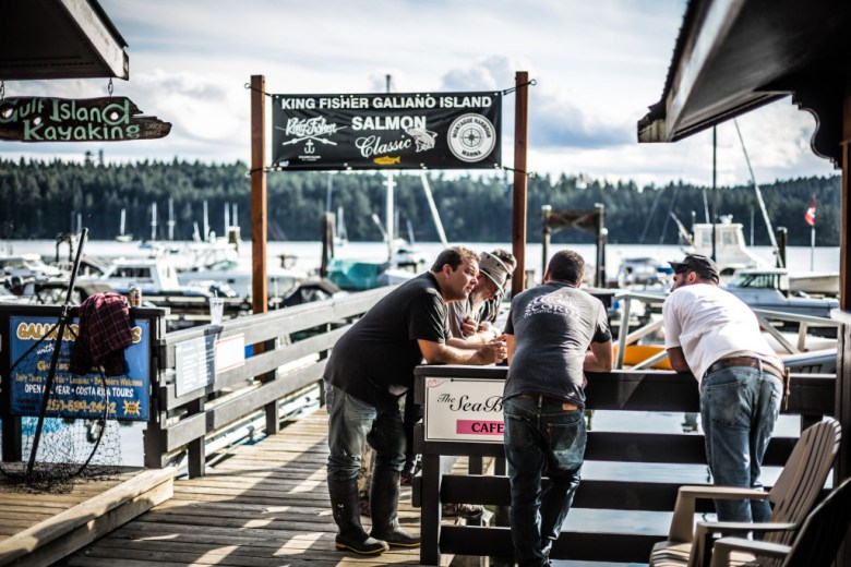 Fishers from around the Salish Sea converged on the newly renovated Montague Harbour Marina for the 2015 King Fisher Galiano Island Salmon Classic fishing derby.