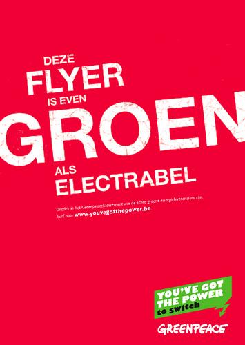 Groen als Electrabel