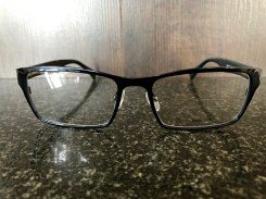 Designer Police Glasses : Front View