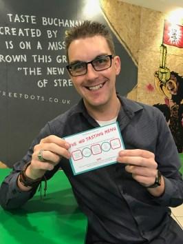 Taste Buchanan Event : Me and my ticket