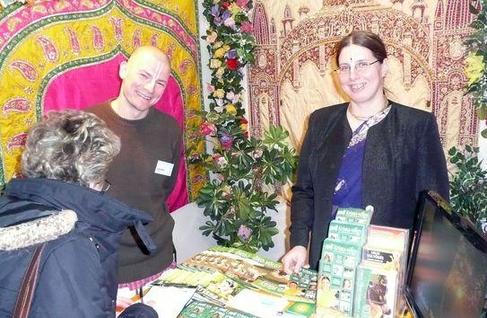 Utazás 2010 expón a Krisna-völgyi turisztikai csapat