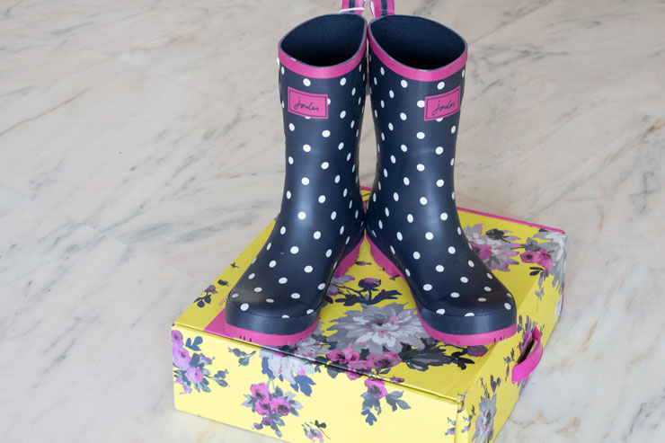 favourites in October - Joules Boots