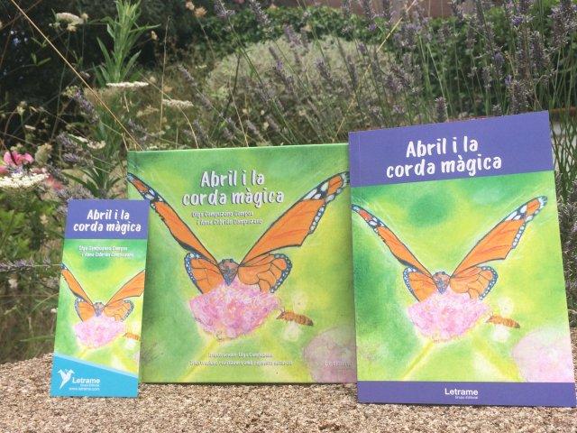 abril i la corda magica conte llibre krisolets contacontes