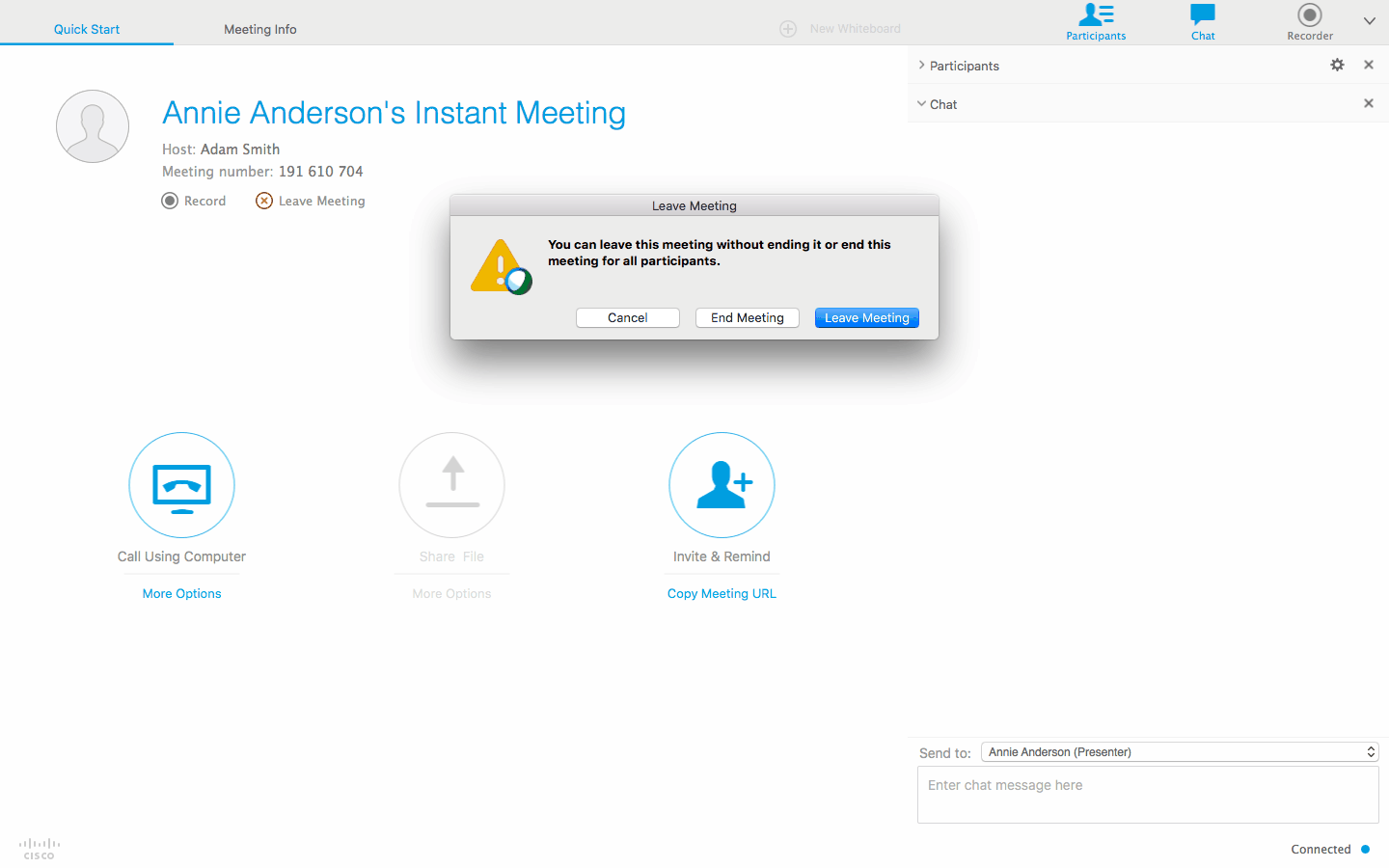 Detailed Guide For Utilizing Webex For Mac Advanced