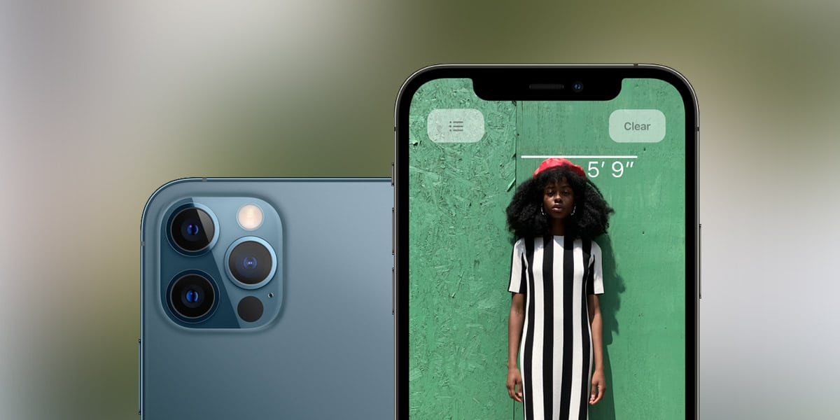 How to Measure Someone's Height using the iPhone 12 Pro ...