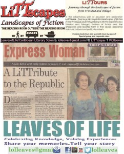 Dr Kris Rampersad and First Lady Dr Jean Richards stage teaparty LiTTribute to the Republic