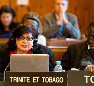 Representing Trinidad and Tobago at UNESCO