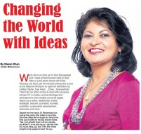 Changing the World With Ideas Kris Rampersad