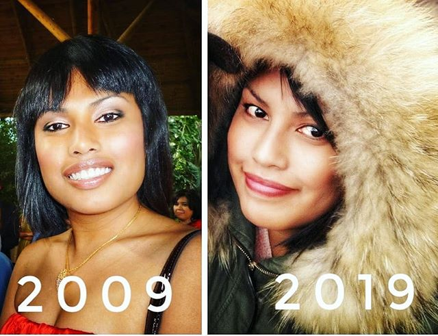 Me then and now #10yearchallenge . #foodie looking good. With rituals of clean skin to bed, scrub, face masque, continuous hydrating face cream day and night, vitamin C and #extravirginoliveoil helps me to keep my supple skin soft and tight. ..#insta #instapic #food #foodie #foodporn #delicious #yummy #delight #happy #happiness #PicOfTheDay #craving #magnificientShot #gastro #FoodForThoughts #Sexy #hungry #foodgasm
