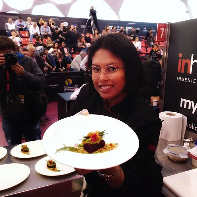 I'm in a national #tapas competition in #Valladolid #Spain . It was indeed a beautiful experience. This #vegan tapa is called LA DOLORES and it's a tapa with Spanish flavours fusion with authentic southeast Asia flavours.  #TapasVLL2019 . Thank you Cervecería Baviera, @lunaticovalladolid and Taisi for all your support .#insta #instapic #food #foodie #foodporn #delicious #yummy #delight #happy #happiness #PicOfTheDay #craving #magnificientShot #gastro #FoodForThoughts #Sexy #hungry #foodgasm
