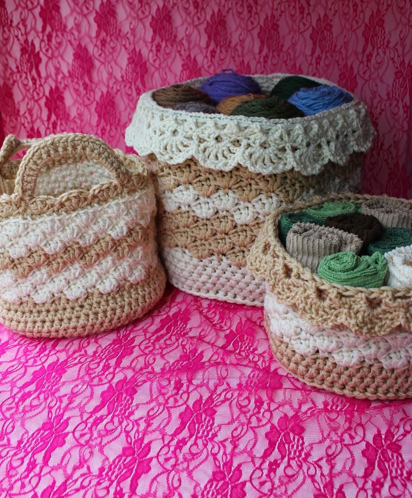 Crochet Baskets! What a Winner!