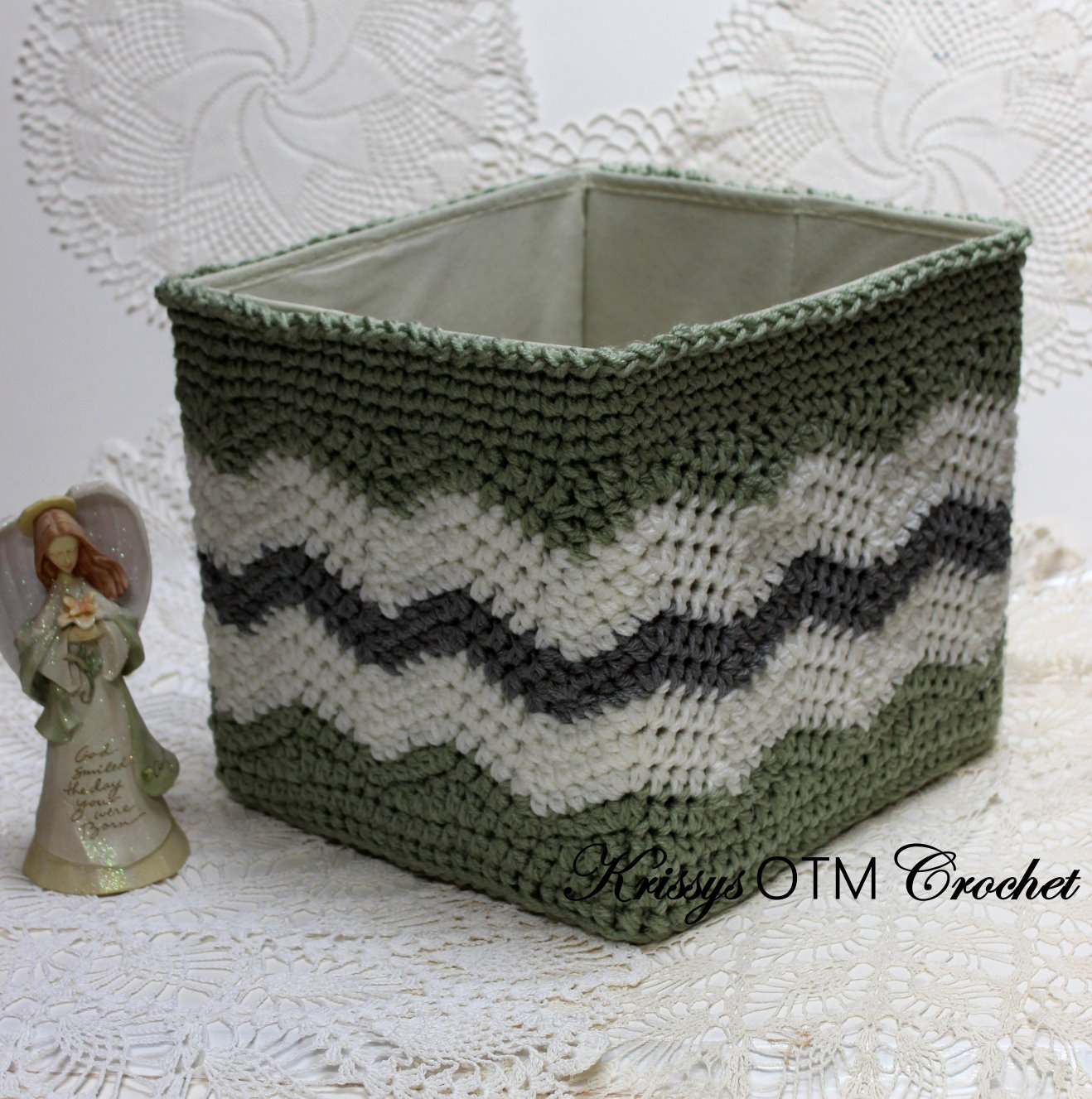 Chevron basket