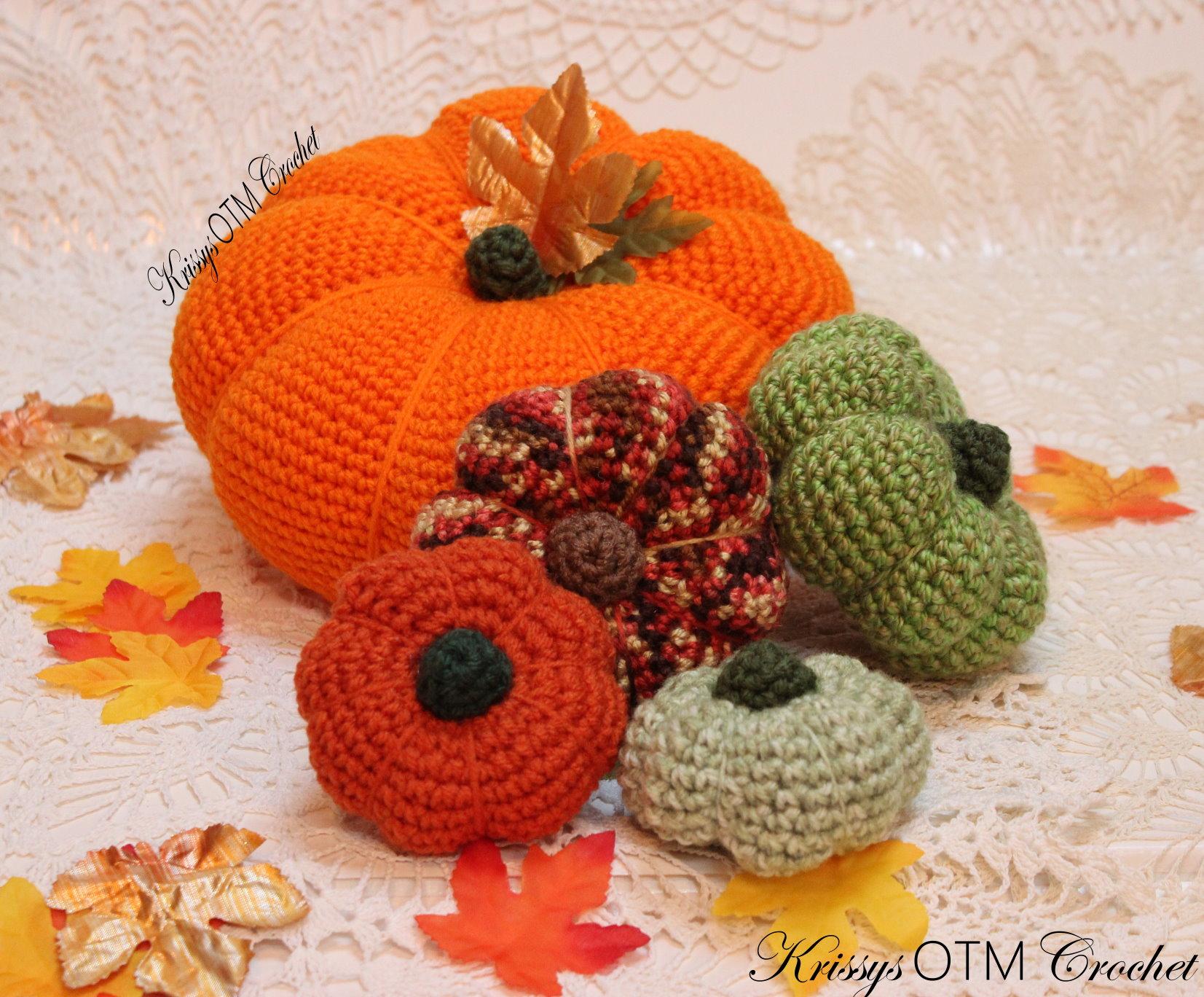 Big pumpkin pattern