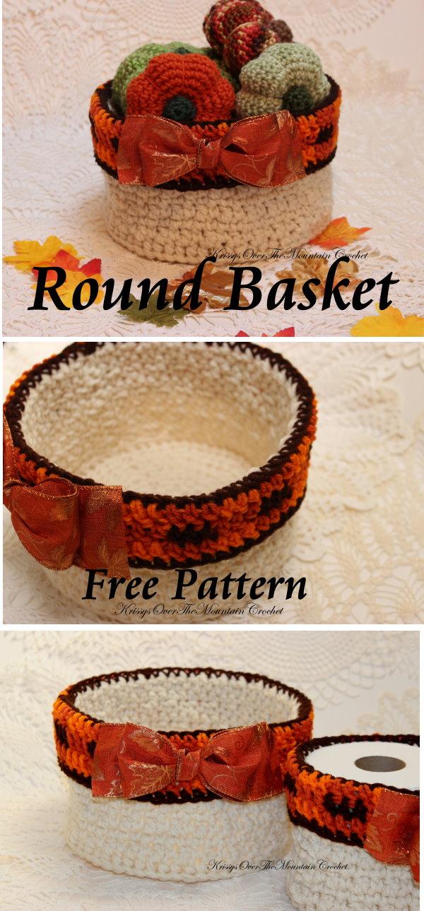 round basket pin