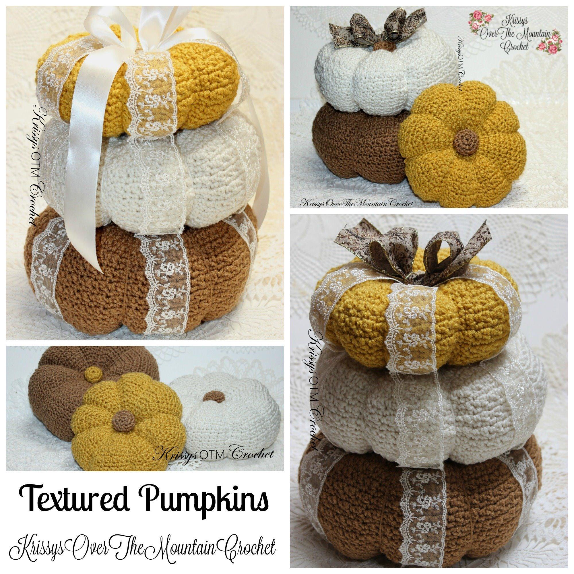 Textured Pumpkins
