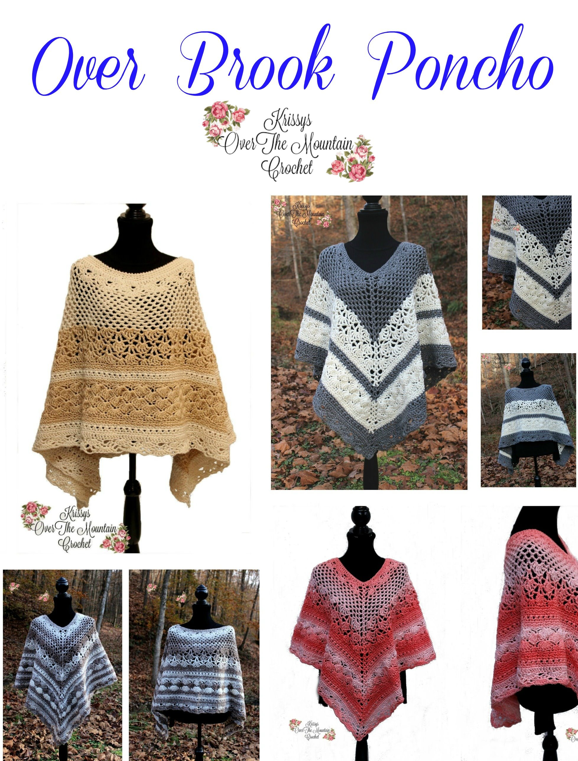 CAL Over Brook Poncho