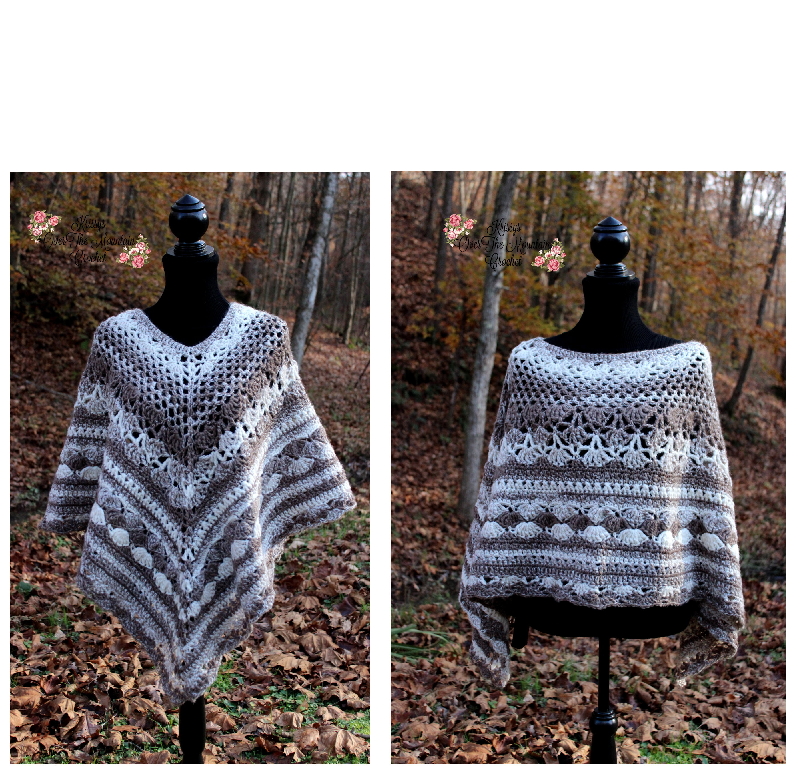 Over Brook Poncho