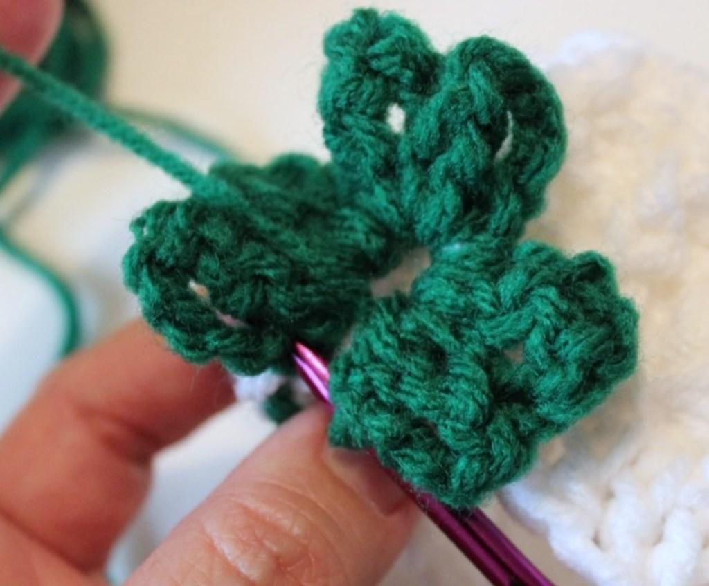 Shamrock stitch