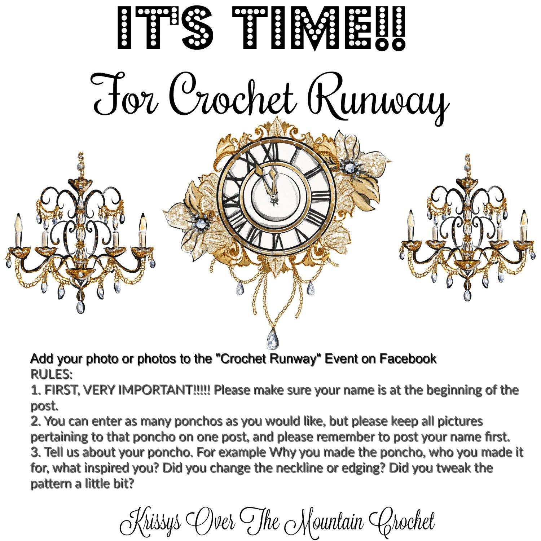crochet runway