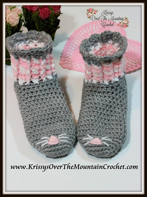 Purrr-fect Striped Socks
